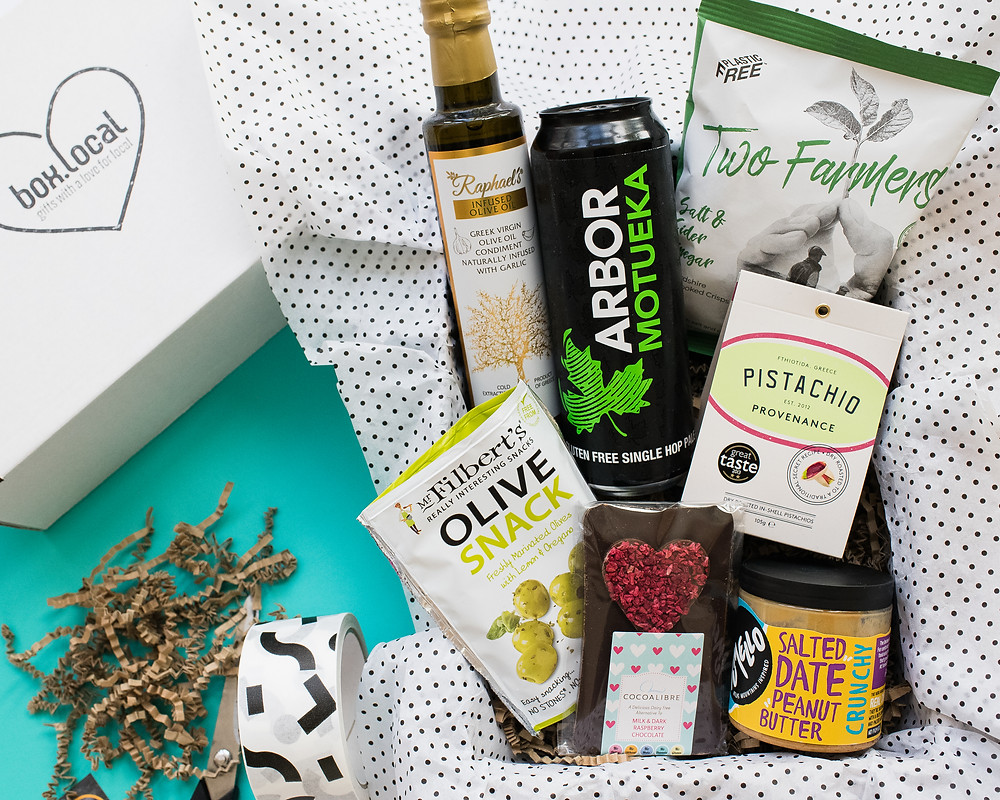 Vegan and Gluten-Free Father's Day Gift Box