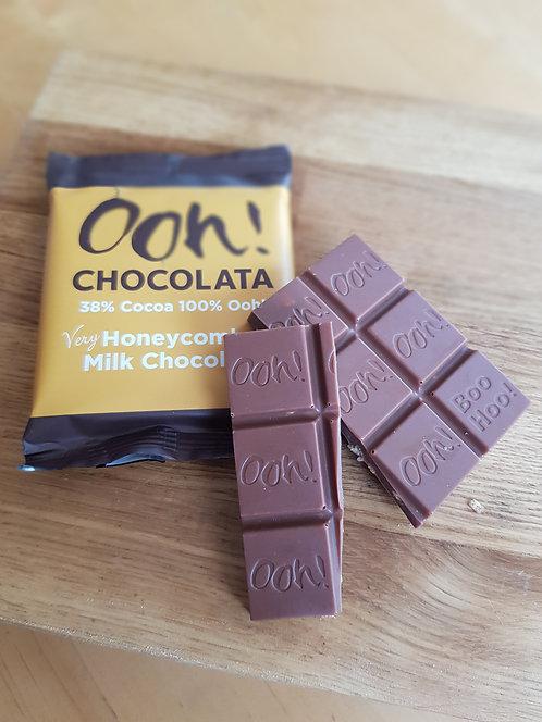 Ooh Chocolata 50g Honeycomb Chocolate Bar