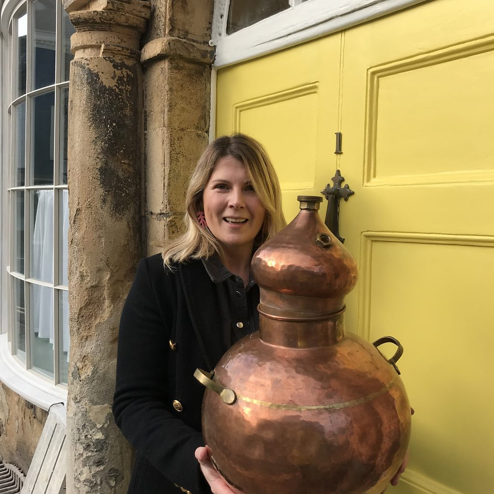 Katie from Shipshape and Bristol Fashion Gin with Copper Pot Still
