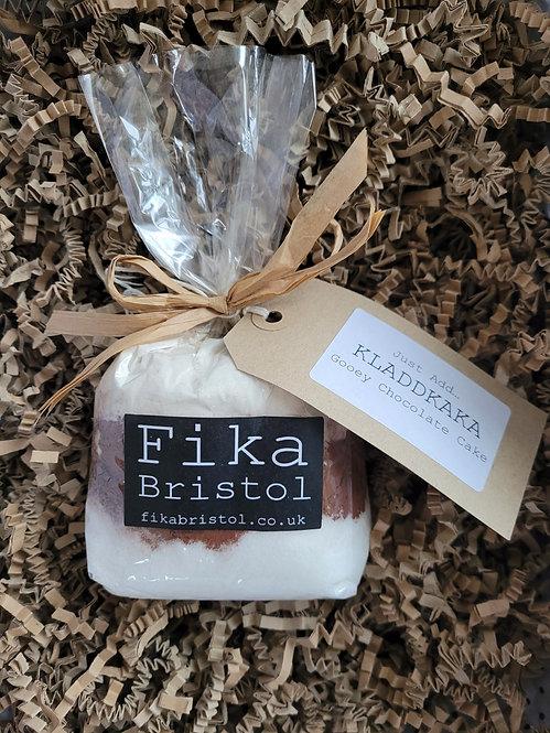 Fika Bristol Just add... Kladdkaka Gooey Chocolate Cake