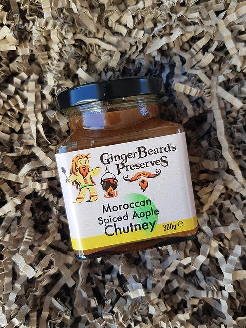 GingerBeard's Preserves Moroccan Spiced Apple Chutney 300g