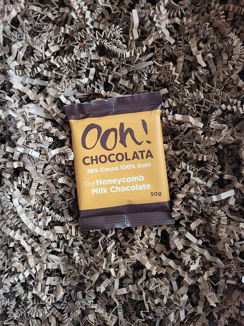 Ooh Chocolata Honeycomb Chocolate Bar 50g
