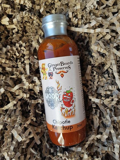 GingerBeard's Preserves Chipotle Ketchup 240ml