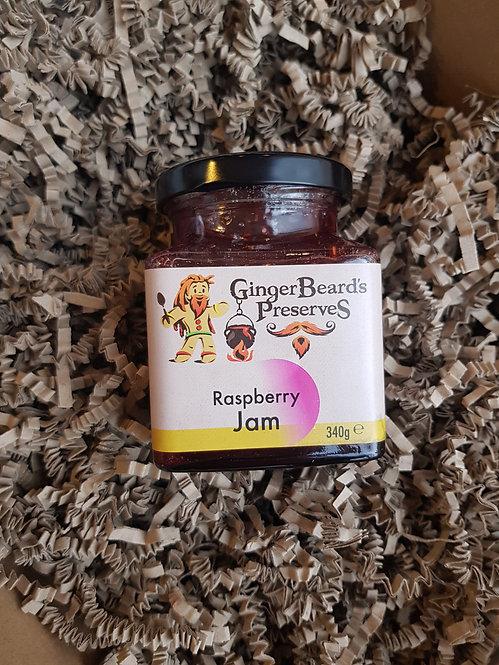 GingerBeard's Preserves Raspberry Jam 340g