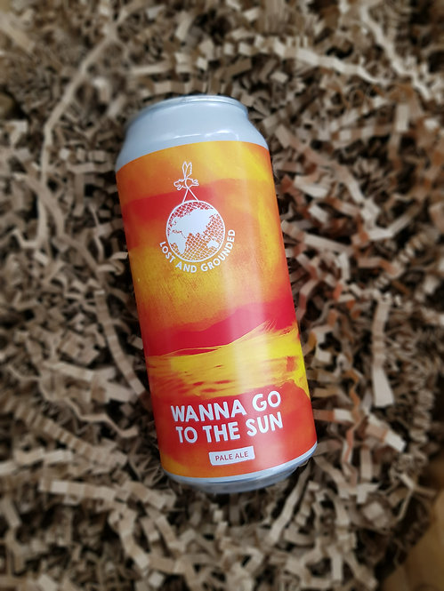 Lost and Grounded  Brewery Wanna Go to the Sun Beer 440ml