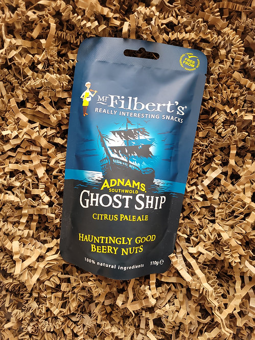 Mr Filbert's Adnam's Ghost Ship Beery Nuts