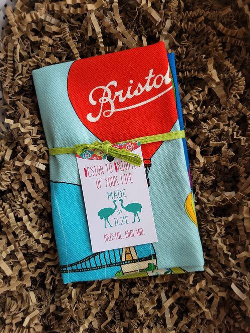 Made by Ilze Bristol Balloons Tea Towel