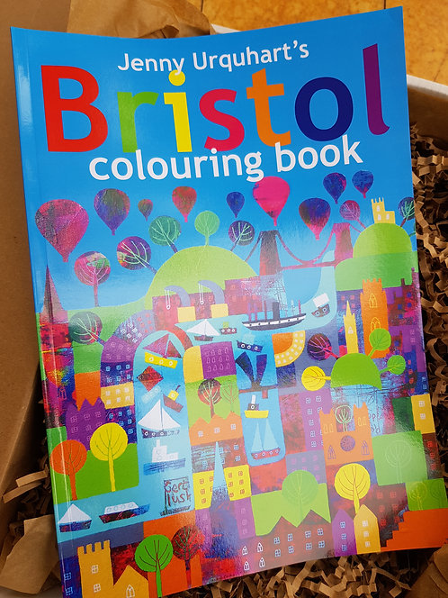 Jenny Urquhart Bristol Colouring Book