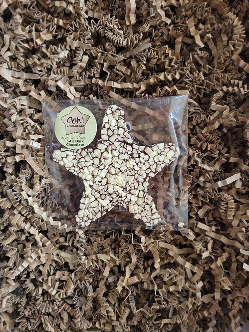 Ooh Chocolata Dark Chocolate Star