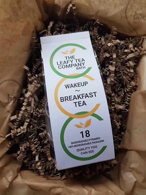 The Leafy Tea Company Tea Bags 18 Breakfast Tea