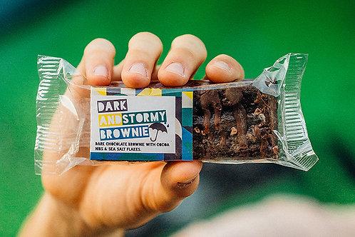 Bakesmiths Dark and Stormy Brownie - Vegan