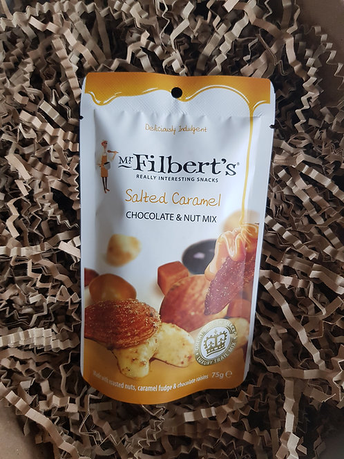 Mr Filberts Salted Caramel Chocolate and Nut Mix 75g