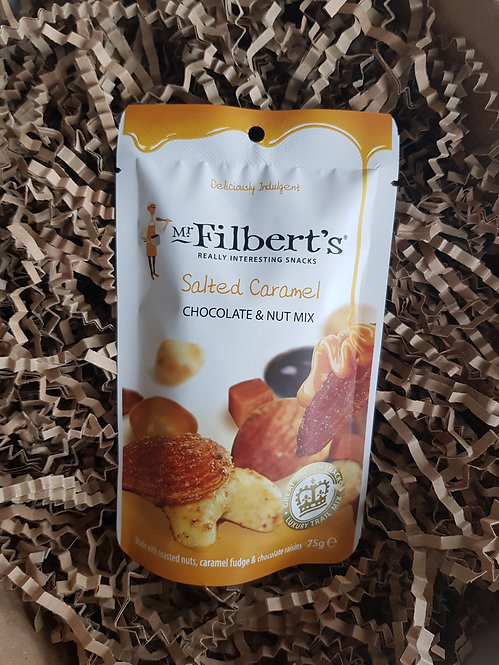 Mr Filbert's Salted Caramel Chocolate and Nut Mix 75g