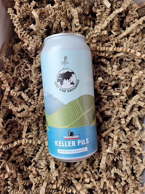 Lost and Grounded Keller Pils 440ml