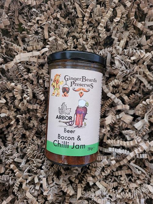 GingerBeard's Preserves Beer, Bacon and Chilli Jam 284g