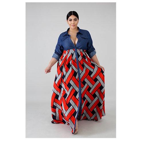 Marley Chiffon Maxi Dress