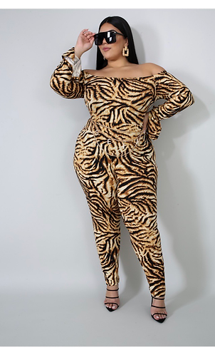 Wild Thang Jumpsuit (PLUS)