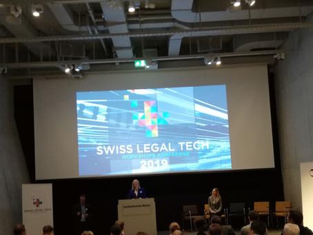 Swiss Legal Tech 2019 - das Ende einer Ära und der Beginn von etwas ganz Großem