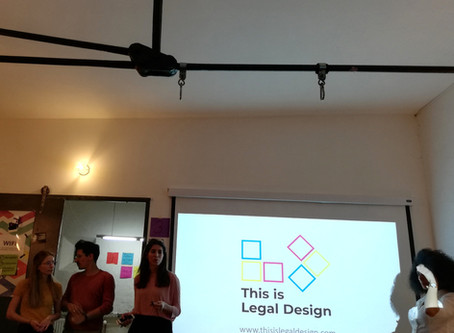 """""""Legal Design - A tale in two cities"""""""
