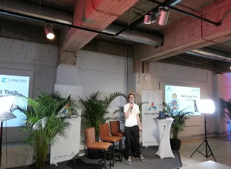 Berlin Legal Tech Hackathon 2019