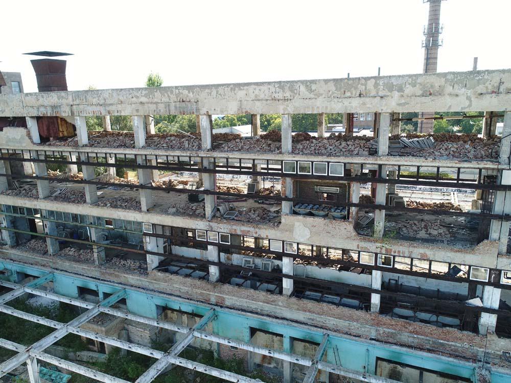 film location factory ruin hungary