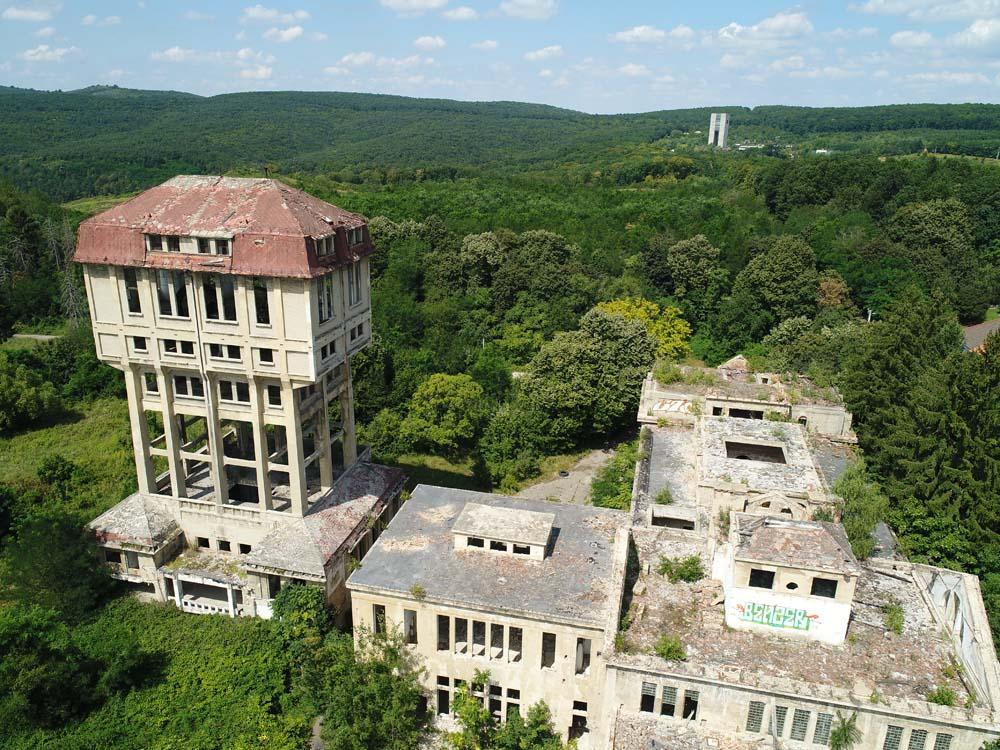 film location factory ruin