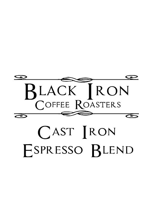 Cast Iron Espresso Blend