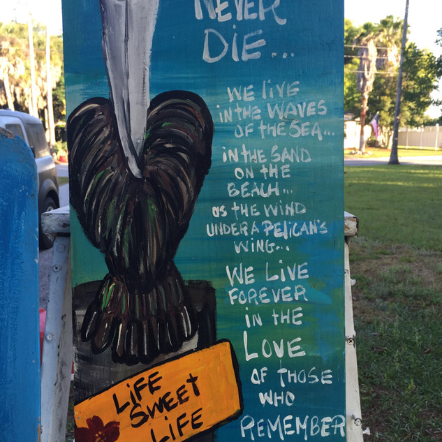 We never die....