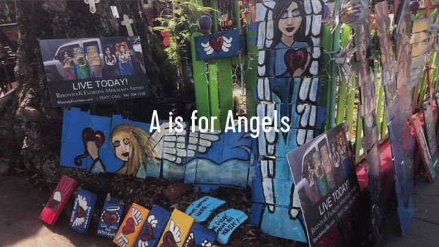 A is for Angels By RhondaK Artist