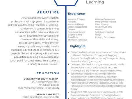 Rhonda K. Kitchens CV/Resume