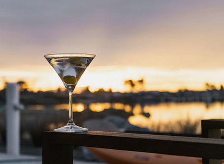 Martini R Us: Revisting the Classic in A Garage as It Snows in Moses Lake, Washington