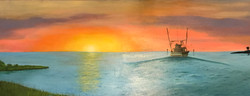 Sunrise Shrimper