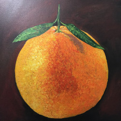 Textured Orange