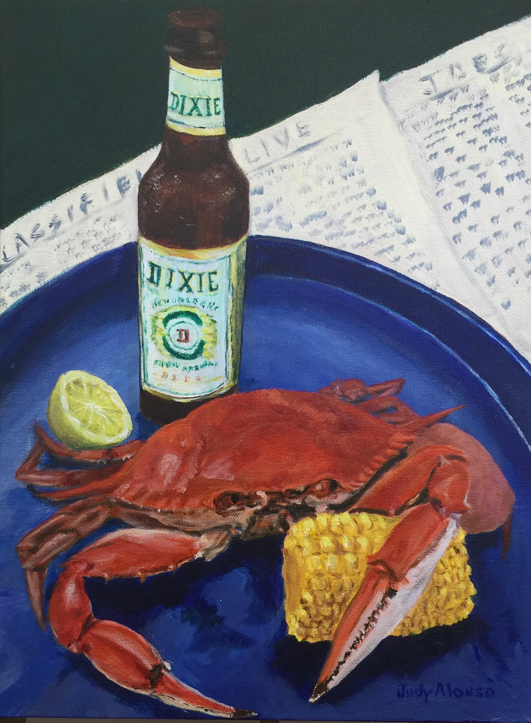 Dixie Beer and Crab