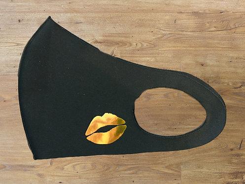 Masque Glossy Noir - Bouche Dorée Miroir