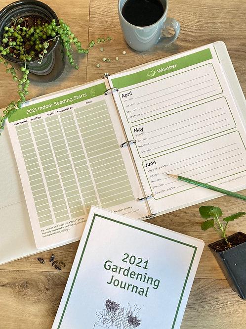 2021 Garden Journal (Digital Download)