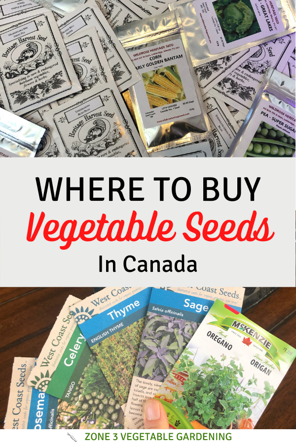 Find out where to buy vegetable seeds in Canada with a list of. Alberta seed companies included.