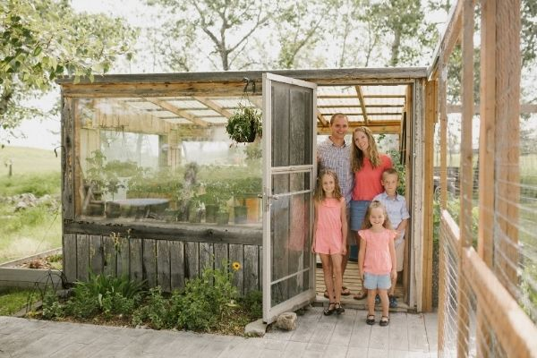 Krista Green and Family in Zone 3 Calgar