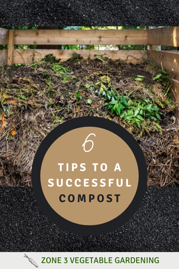 6 tips for creating your own compost for your garden soil to put in your backyard vegetable garden.