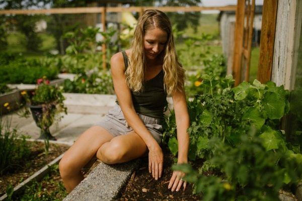 Krista Green in Calgary Alberta Vegetabl