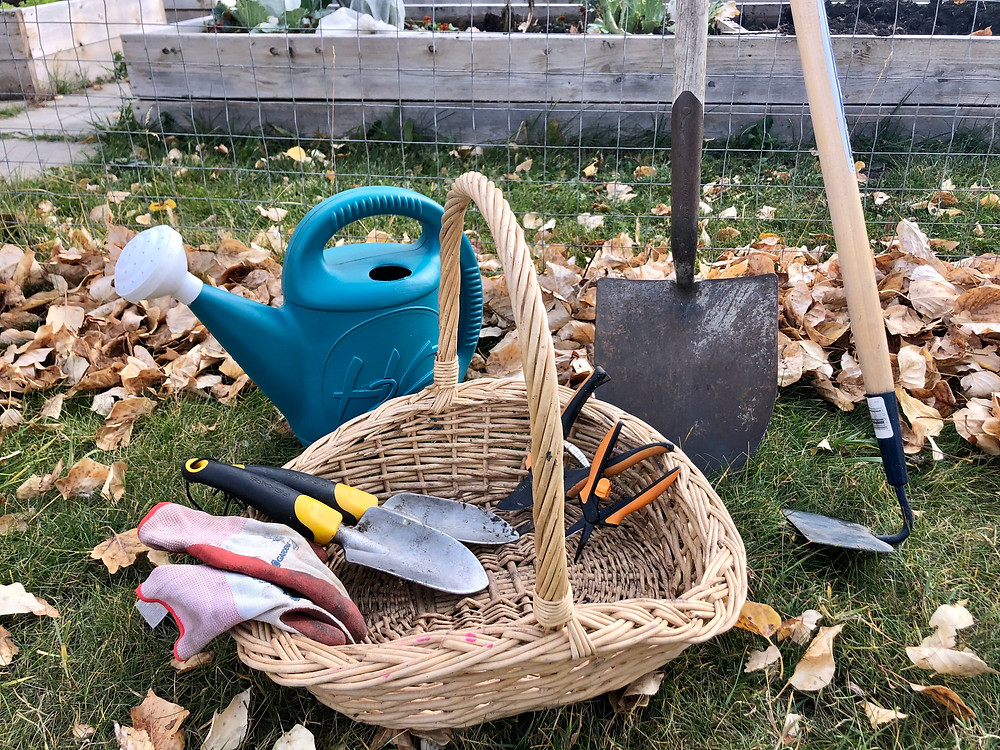 Gardening tools.  Vegetable Gardening tools.  Tools for vegetable gardening in zone 3.  What do I need to begin gardening?  What tools do I need to garden?  My favourite gardening tools.
