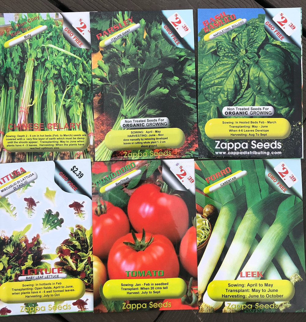 Another option of where to buy seeds in Canada is Zappa Seeds who carries many non-GMO garden seed varieties.
