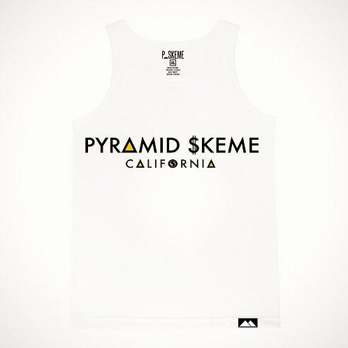Pyramid Skeme California Tank Top