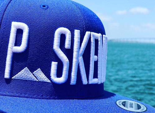 PSKEME Blue Snapback