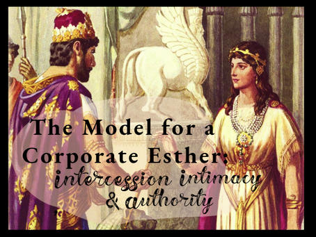 The Model of a Corporate Esther: Intercession, Intimacy & Authority