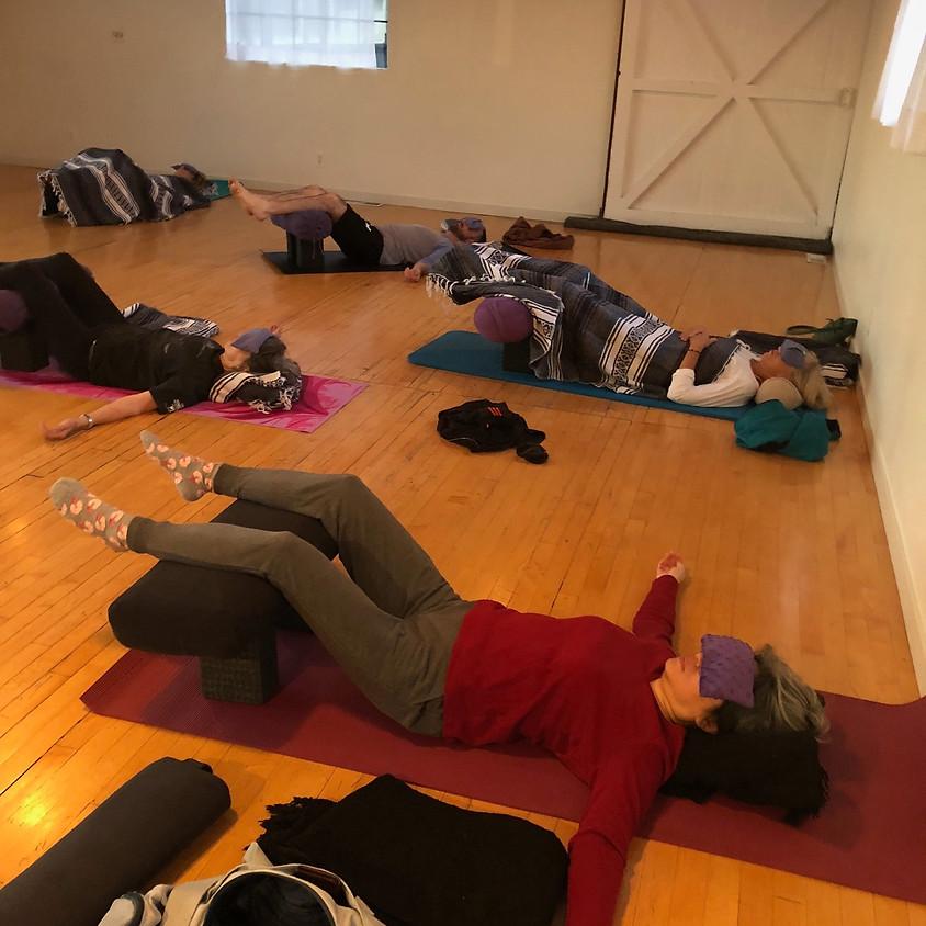 Restorative Yoga and Sound Healing Workshop