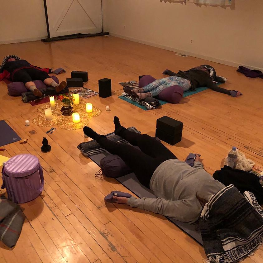 Women's Wellness Half-Day Retreat - 2019 Vision Boards & Restorative Yoga