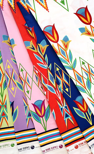 Cotton Fabric designed by Kira Murillo for Teton Trade Cloth