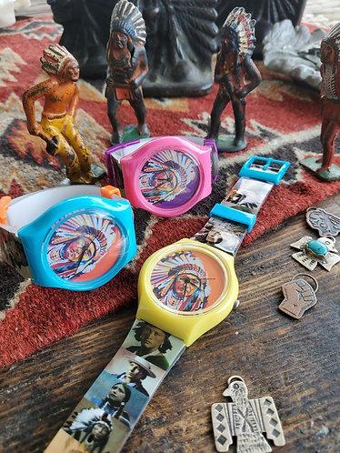 NDN Time Watch by Steven Paul Judd x Teton Trade Cloth