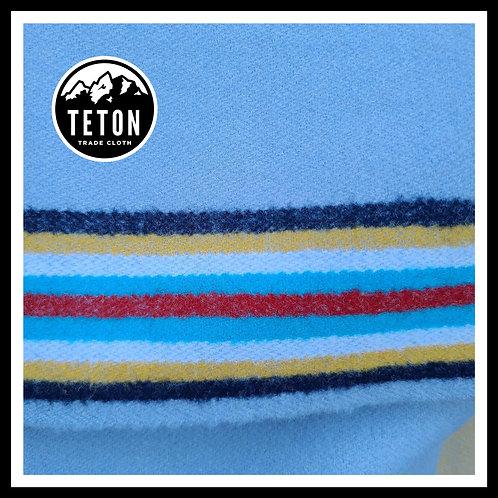 Powder Blue 10 Band Trade Cloth